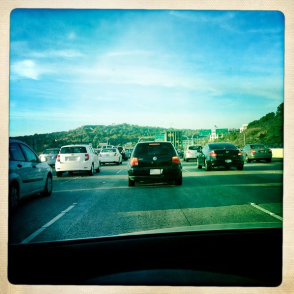 Southern California traffic